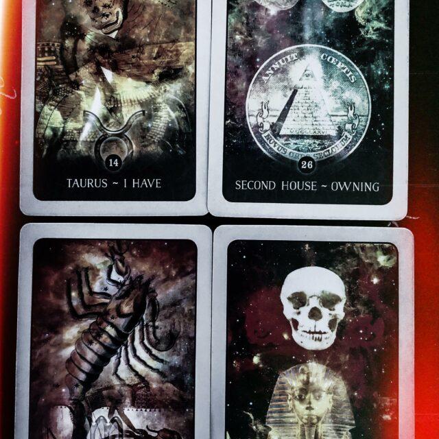 L'axe de l'argent en astrologie: Taureau/Scorpion – 2e maison/8e maison